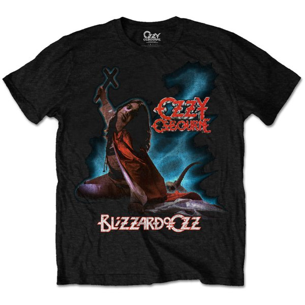 Ozzy Osbourne Shirt blizzard of ozz
