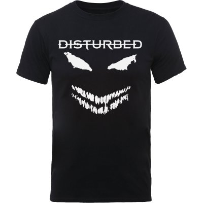 Disturbed Shirt scary face candle
