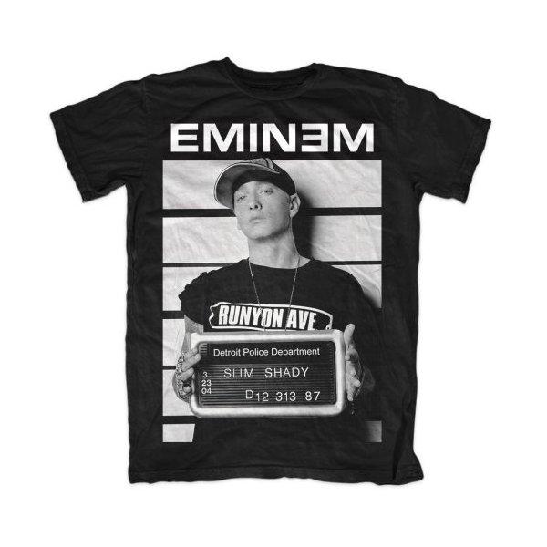 Eminem Shirt Slim Shady Arrest