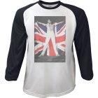 Freddie Mercury Raglan-Longsleeve Flag