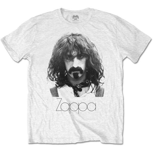 Frank Zappa Shirt Thin Logo Portrait