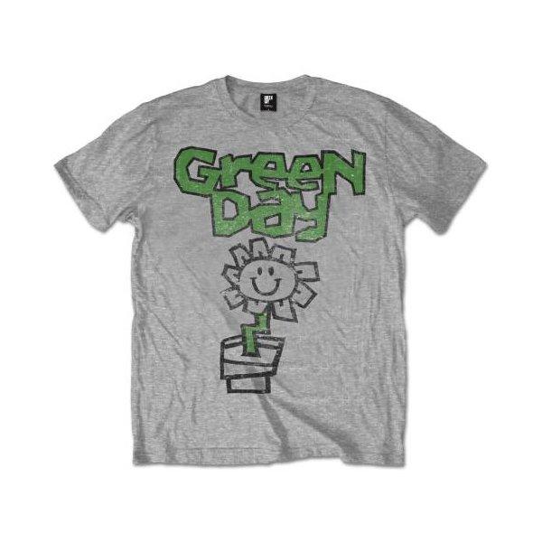 Green Day Shirt Flower Pot