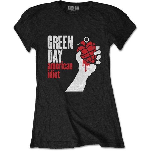 Green Day Frauenshirt American Idiot