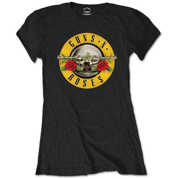 Guns n´ Roses Frauenshirt Classic Logo