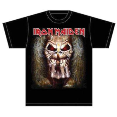 Iron Maiden Shirt Eddie Candle Finger