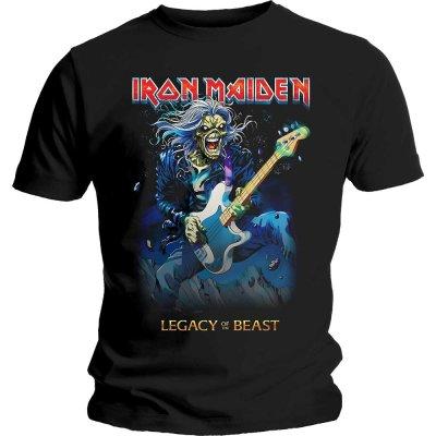 Iron Maiden Shirt Eddie on bass