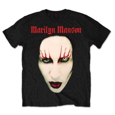 Marilyn Manson Shirt Red Lips
