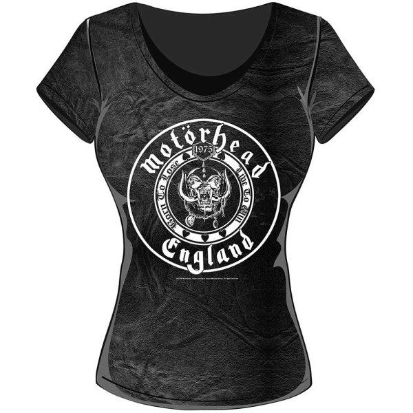 Motörhead skinny Frauenshirt England Seal