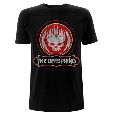 The Offspring Shirt Distressed Skull
