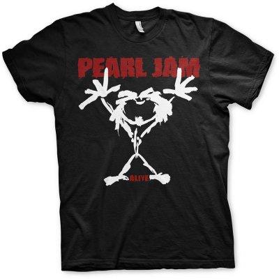 Pearl Jam Shirt Stickman beidseitig bedruckt