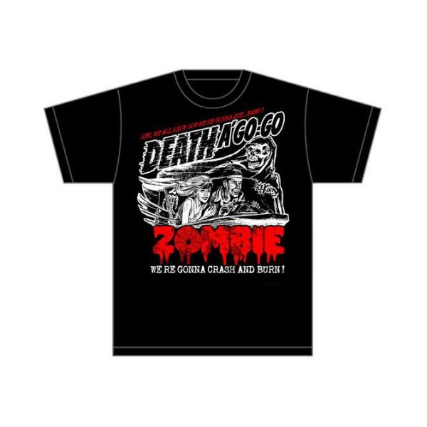 Rob Zombie Shirt Zombie Crash