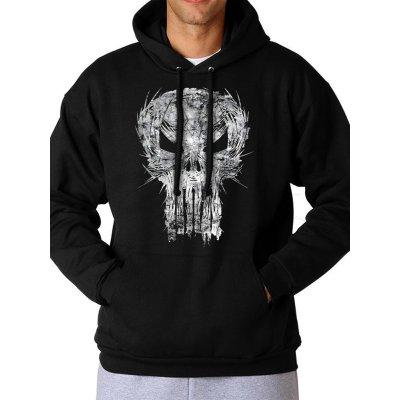 Marvel Punisher Hoodie Shatter Skull