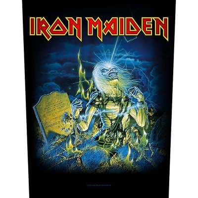"""Iron Maiden Backpatch """"live after death""""..."""