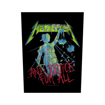 """Metallica Backpatch """"...and justice for all""""..."""