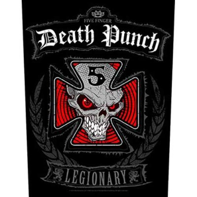 """Five finger death punch Backpatch """"legionary""""..."""