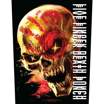 """Five finger death punch Backpatch """"and justice for..."""
