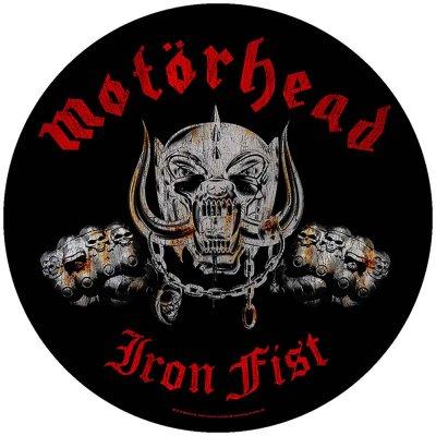 "Motörhead runder Backpatch ""Iron Fist""..."