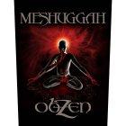 "Meshuggah Backpatch ""Obzen"" schwarz rot"