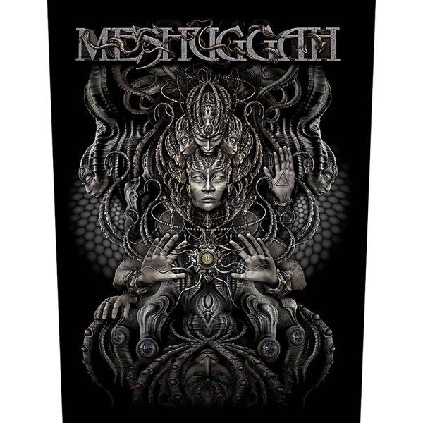 "Meshuggah Backpatch ""Musical Deviance"" schwarz silber"