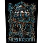 "Meshuggah Backpatch ""5 Faces"" schwarz blau"