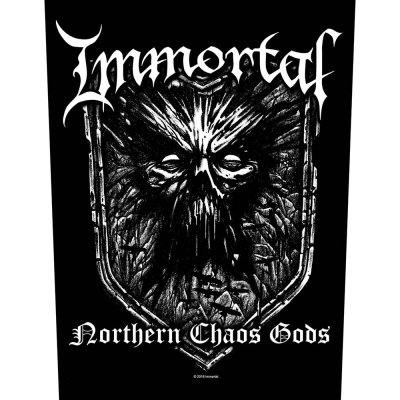 """Immortal Backpatch """"Nothern Chaos"""" schwarz..."""