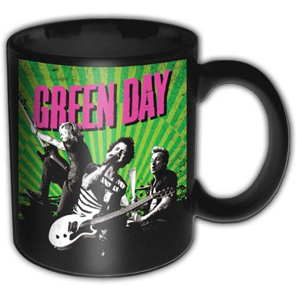 """Green Day Minitasse """"Tour"""" schwarz weiß"""