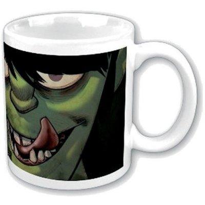 "Gorillaz Tasse ""Characters"" weiß grün"
