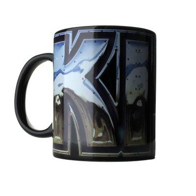 Kiss Chrome Logo Mug / Tasse