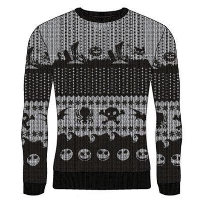 Nightmare Before Christmas - Symbols Strickpulli...