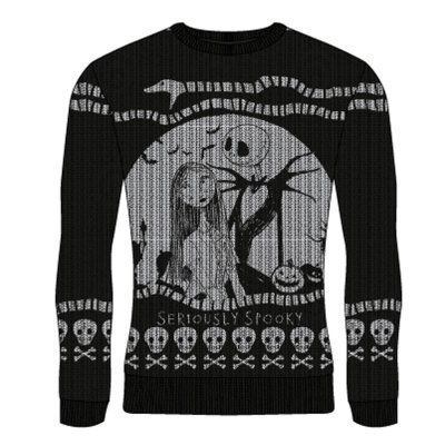 Nightmare Before Christmas - Seriously Spooky Strickpulli...