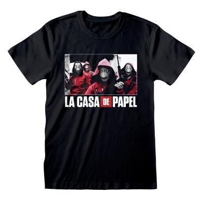 La Casa de Papel - Photo And Logo rundhals T-Shirt...