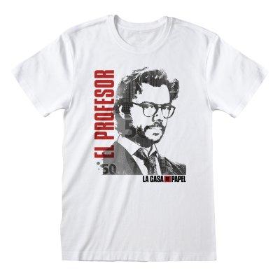 La Casa de Papel - El Profesor T-Shirt