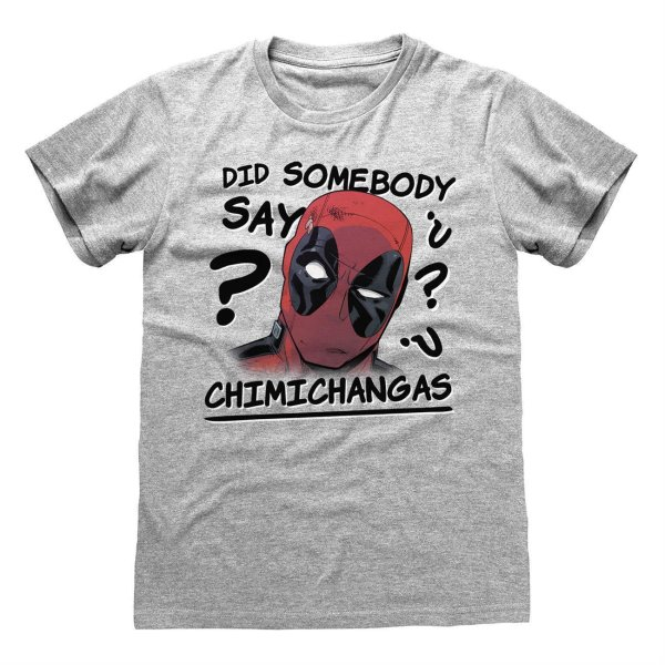 Marvel Comics Deadpool – Chimichangas T Shirt