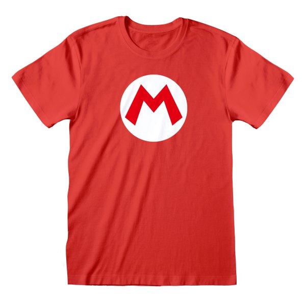 Nintendo Super Mario – Mario Badge T Shirt
