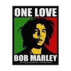 Bob Marley One Love Standard Patch offiziell lizensierte Ware