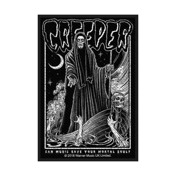 Creeper Mortal Soul Standard Patch offiziell lizensierte Ware