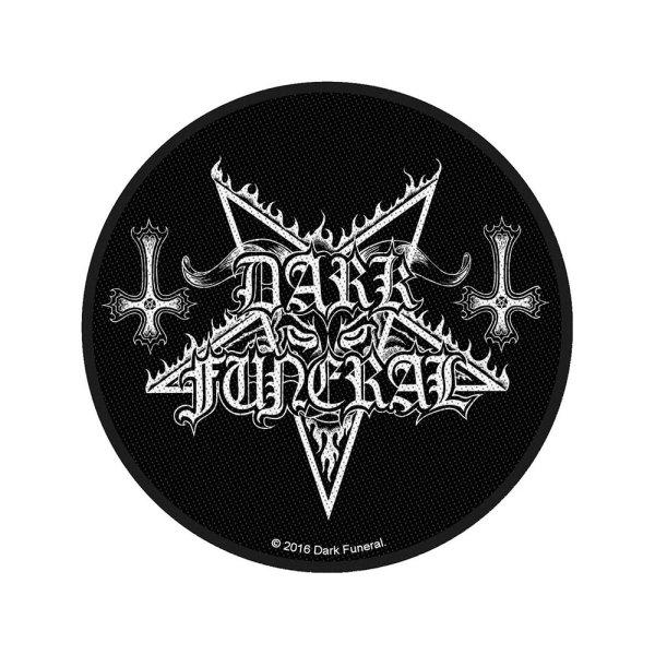 Dark Funeral Circular Logo Standard Patch offiziell lizensierte Ware