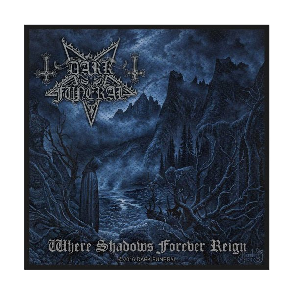 Dark Funeral Where Shadows Forever Reign Standard Patch offiziell lizensierte Ware