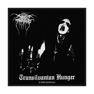 Darkthrone Transilvanian Hunger Standard Patch offiziell...