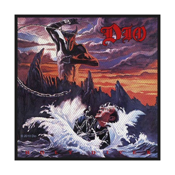 Dio Holy Diver Standard Patch offiziell lizensierte Ware