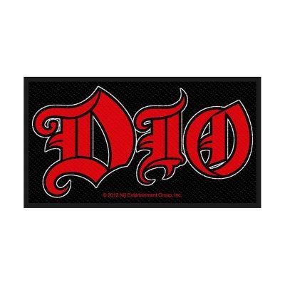 Dio Logo Standard Patch offiziell lizensierte Ware