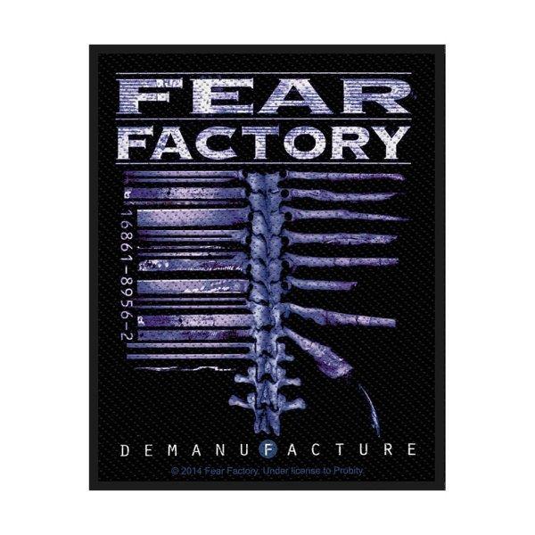 Fear Factory Demanufacture Standard Patch offiziell lizensierte Ware