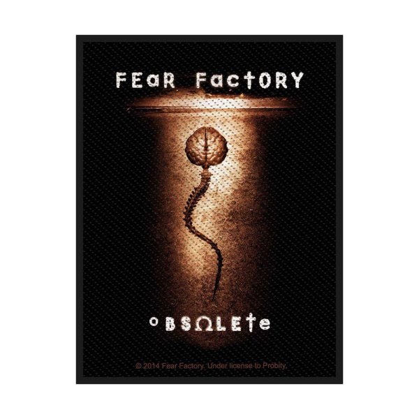 Fear Factory Obsolete Standard Patch offiziell lizensierte Ware
