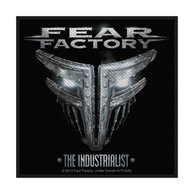 Fear Factory The Industrialist Standard Patch offiziell...