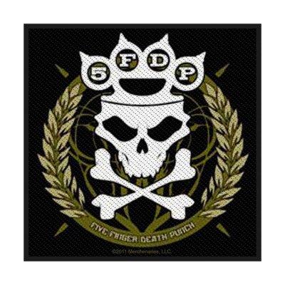 Five Finger Death Punch Knuckle Crown Standard Patch...