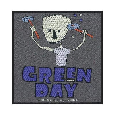 Green Day Hammer Face Standard Patch offiziell...