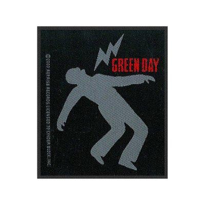 Green Day Lightning Bolt Standard Patch offiziell...