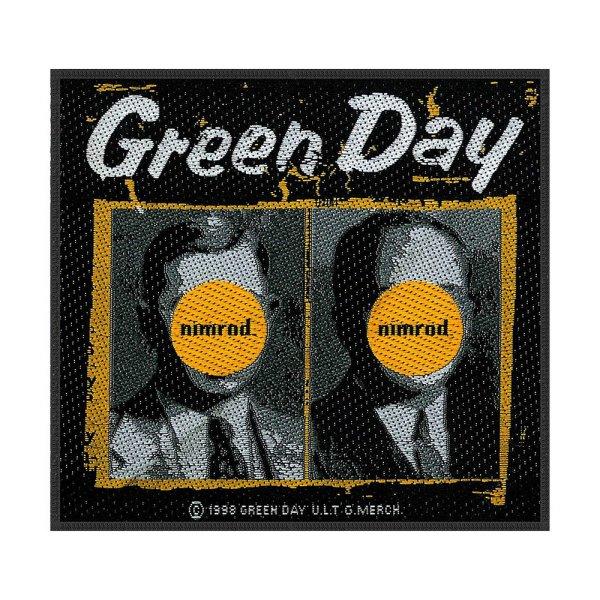 Green Day Nimrod Standard Patch offiziell lizensierte Ware