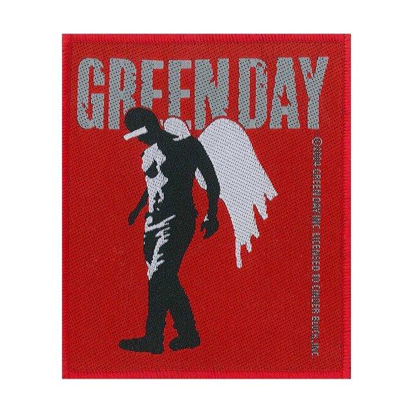 Green Day Wings Standard Patch offiziell lizensierte Ware