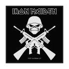 Iron Maiden A Matter Of Life And Death Standard Patch offiziell lizensierte Ware